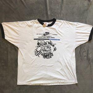 Vintage 1998 Nike Silver tag T-shirt